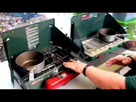 how to pick a coleman / camp stove for car camping