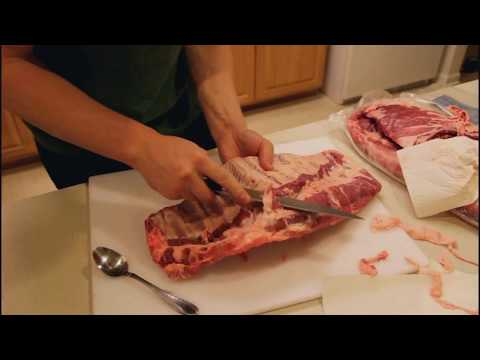 How to Trim Pork Spare Ribs (St. Louis Style Cut)