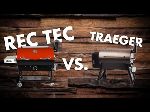 RT-680 vs. Traeger • Side by Side Comparison | REC TEC Grills
