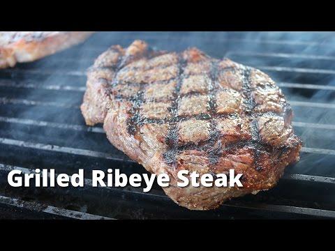 Grilled Ribeye Steaks on Weber Kettle   Grilled Rib Eye Steak Recipe Malcom Reed HowToBBQRight