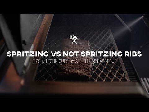 Spritzing vs Not Spritzing Ribs | Tips & Techniques by All Things Barbecue