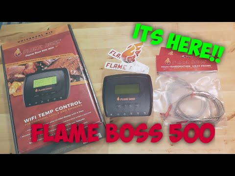 Flame Boss 500 Unboxing & Catering Use