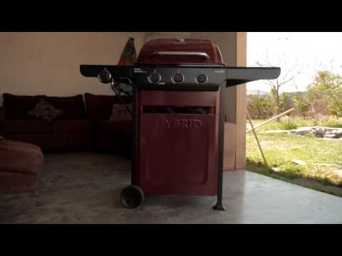 New Char-Broil 2-in-1 Hybrid Grill (Charcoal Test)