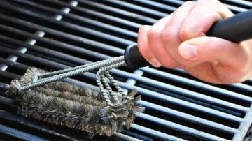 Caring for Cast Iron Grates