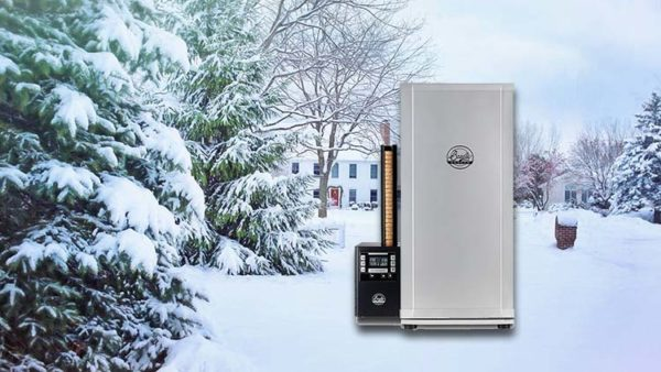 How to Use an Electric Smoker in Cold Weather & Snow & Winter