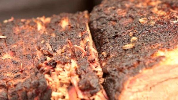 Slice and Serve the Brisket